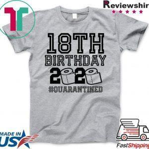 18th Birthday, Quarantine Shirt, The One Where I Was Quarantined 2020 Classic T-Shirts
