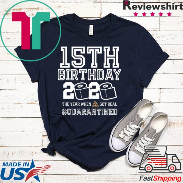 15th Birthday Quarantined T-Shirt