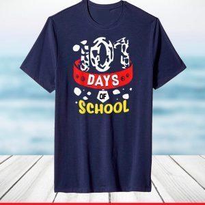 101 School Days Tshirt Dalmatian Dog 100th Sayings T Shirt