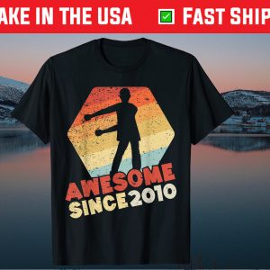 11 Year Old birthday Awesome Since 2010 Gift T-Shirt