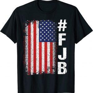 #FJB FJB Pro America US Distressed Flag F Biden Anti-Biden Gift Shirt